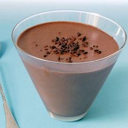 Chocolademousse met koffie
